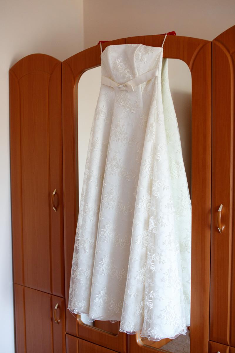 Утро невесты - платье.